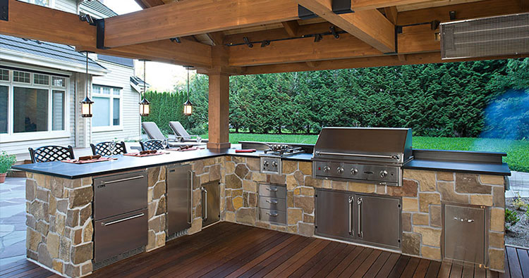Covered Outdoor Kitchen In Jacksonville, FL ...