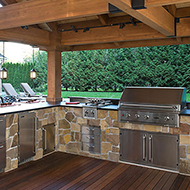 Covered Outdoor Kitchen in Jacksonville, FL