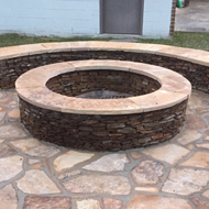 Fire Pit with Seating in Jacksonville, FL