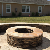 Fire Pit and a House in Jacksonville, FL