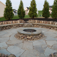Fire Pit and Patio in Jacksonville, FL